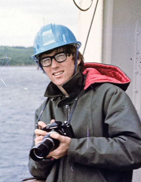 John on supply ship 1968